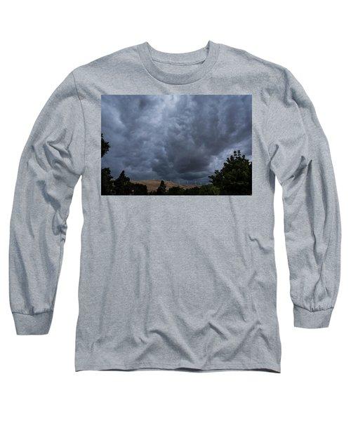 Dark Electric Long Sleeve T-Shirt