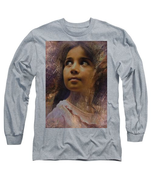 Dark Eyed Beauty Long Sleeve T-Shirt