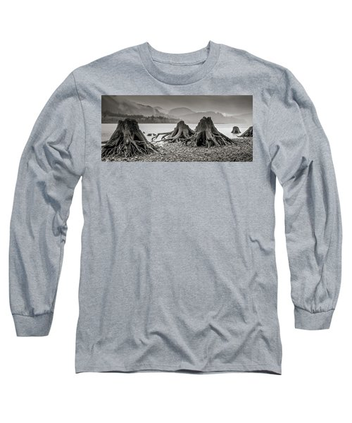 Dark Lake Long Sleeve T-Shirt