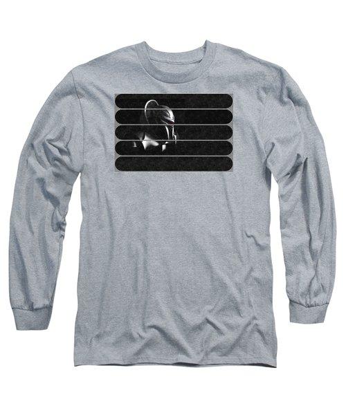 Dark Zylon Long Sleeve T-Shirt by Mario Carini