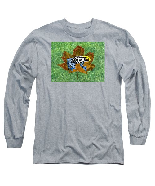 Dart Poison Frog Long Sleeve T-Shirt by Ralph Root