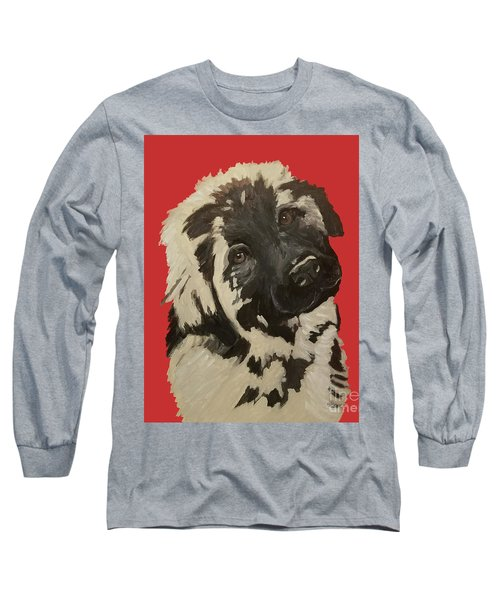 Long Sleeve T-Shirt featuring the painting Date With Paint Sept 18 5 by Ania M Milo