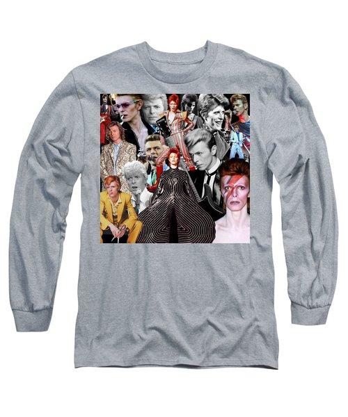 David Bowie 6 Long Sleeve T-Shirt