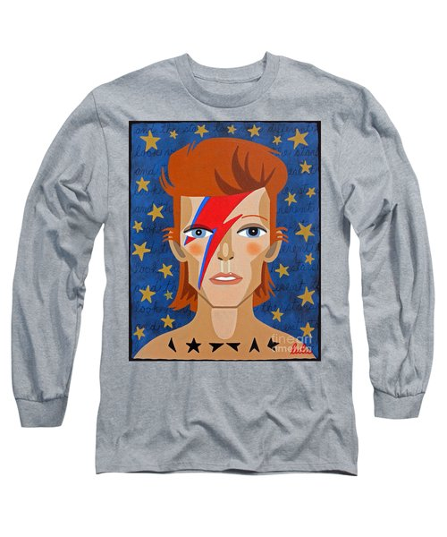 David Bowie Aladdin Sane Long Sleeve T-Shirt