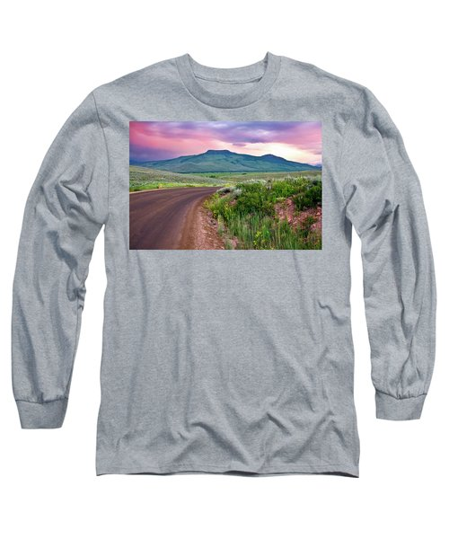 Dawn At Flattop Mountain Long Sleeve T-Shirt