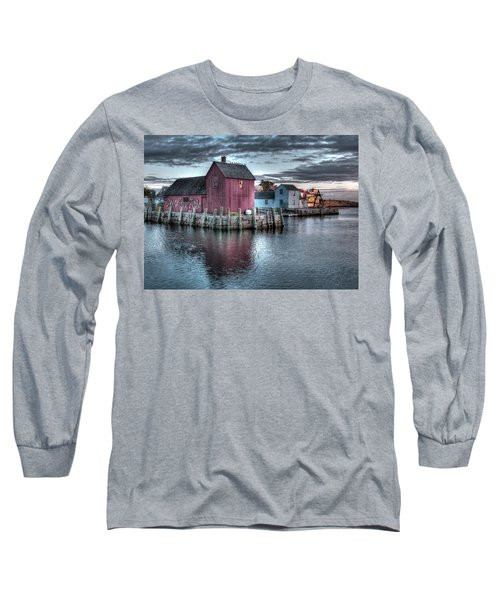Dawn At Motif Number 1 Long Sleeve T-Shirt