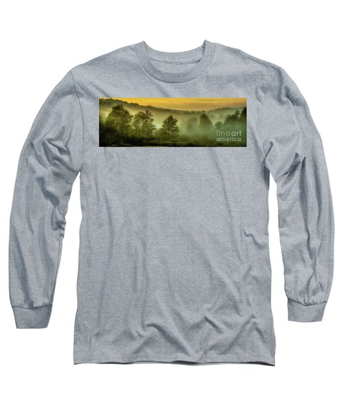 Long Sleeve T-Shirt featuring the photograph Dawn At Wildlife Management Area by Thomas R Fletcher