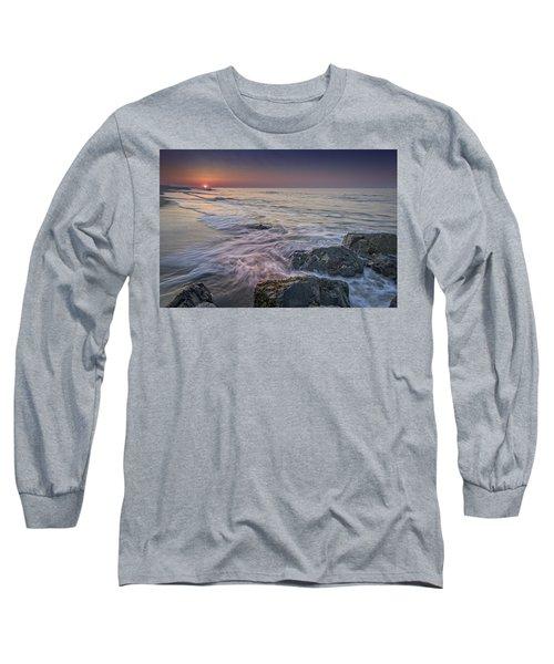 Dawn Breaks At Cape May Long Sleeve T-Shirt