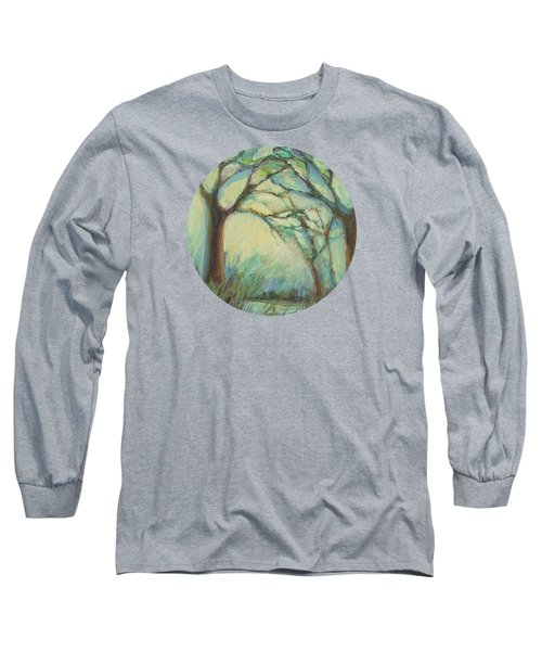 Long Sleeve T-Shirt featuring the painting Dawn by Mary Wolf