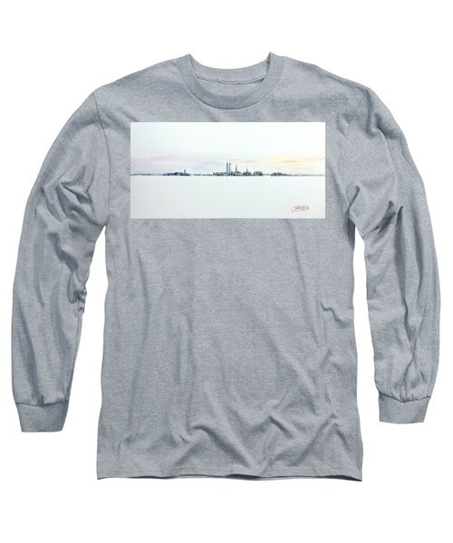 Dawn New York City Long Sleeve T-Shirt