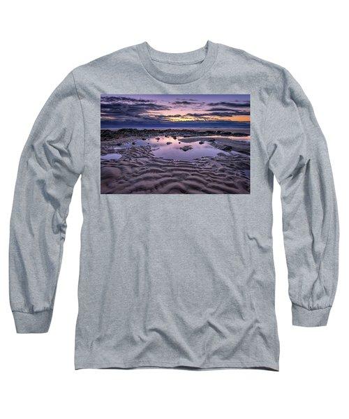 Long Sleeve T-Shirt featuring the photograph Dawn On Wells Beach by Rick Berk