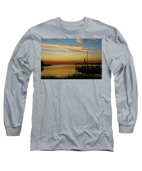 Dawn Over The Bay Long Sleeve T-Shirt