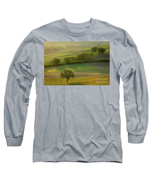 Long Sleeve T-Shirt featuring the photograph Dawn Over Tuscany II by Brian Jannsen