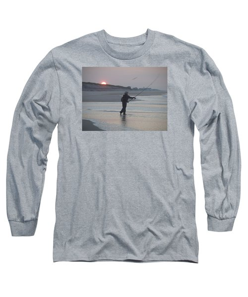 Long Sleeve T-Shirt featuring the photograph Dawn Patrol by Newwwman