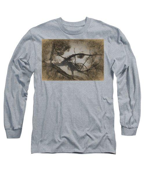 Day Dreaming Long Sleeve T-Shirt by Ernie Echols