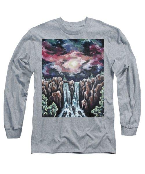 Day One, The Beginning Long Sleeve T-Shirt by Cheryl Pettigrew