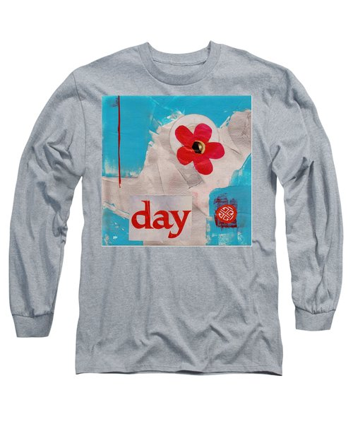 Day Long Sleeve T-Shirt by Patricia Cleasby