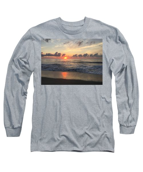 Daybreak At Cocoa Beach Long Sleeve T-Shirt