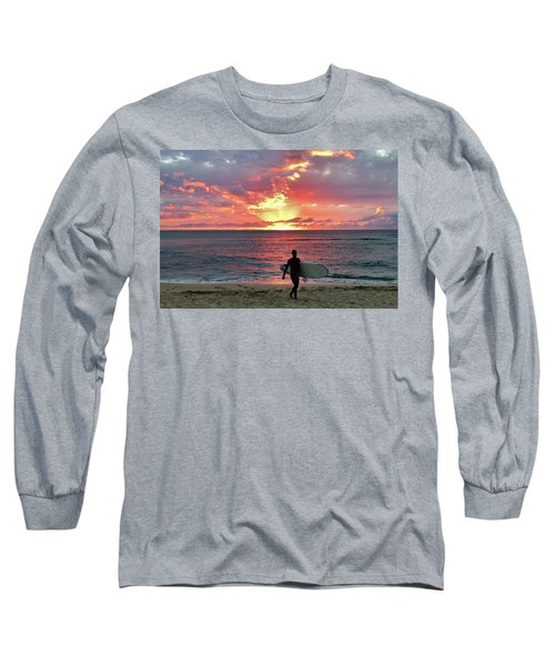 Day's End On The North Shore Long Sleeve T-Shirt