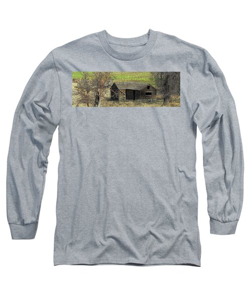 Days Of Old Long Sleeve T-Shirt by Steve Warnstaff