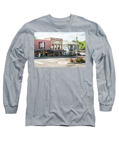 Long Sleeve T-Shirt featuring the photograph Daytime In Old Town Helena by Parker Cunningham