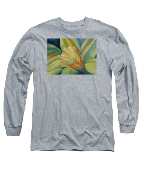 Dazzling Daffodil Long Sleeve T-Shirt