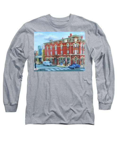 dDowntown Doylestown Long Sleeve T-Shirt by Oz Freedgood