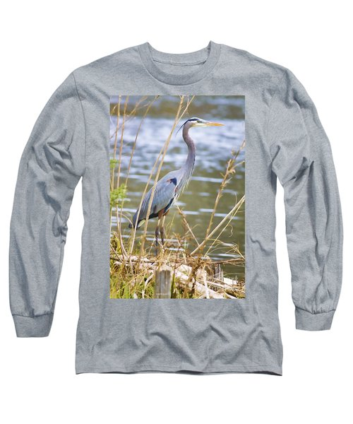De Leon Springs Blue Long Sleeve T-Shirt