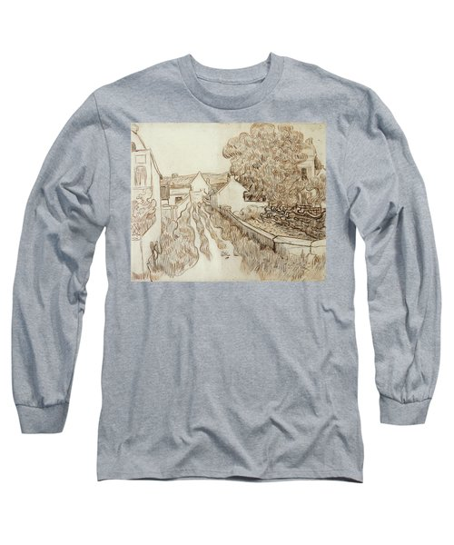 Dead-end Street With Houses, 1890 Long Sleeve T-Shirt