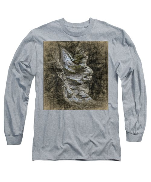 Long Sleeve T-Shirt featuring the photograph Dead Leaf by Vladimir Kholostykh