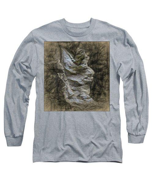 Dead Leaf Long Sleeve T-Shirt by Vladimir Kholostykh