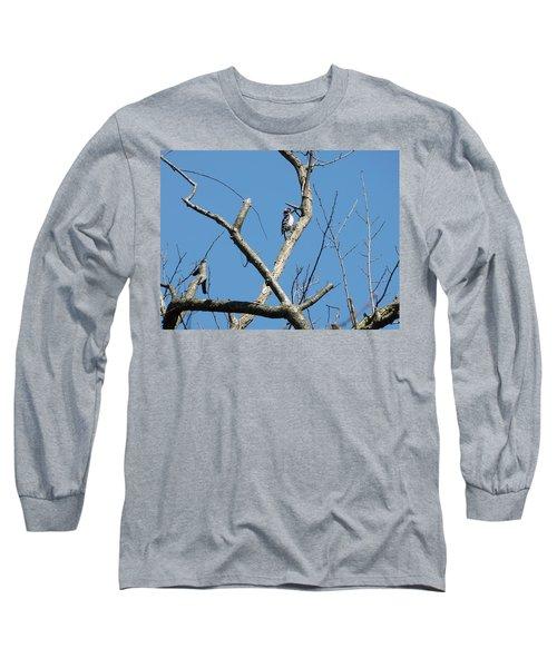Dead Tree - Wildlife Long Sleeve T-Shirt by Donald C Morgan
