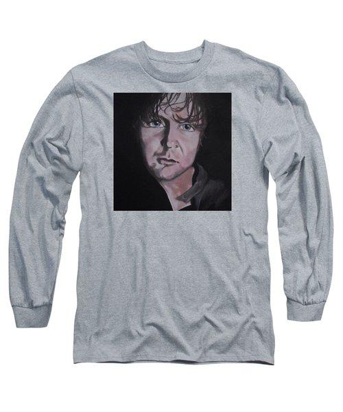 Dean Ambrose Portrait Long Sleeve T-Shirt