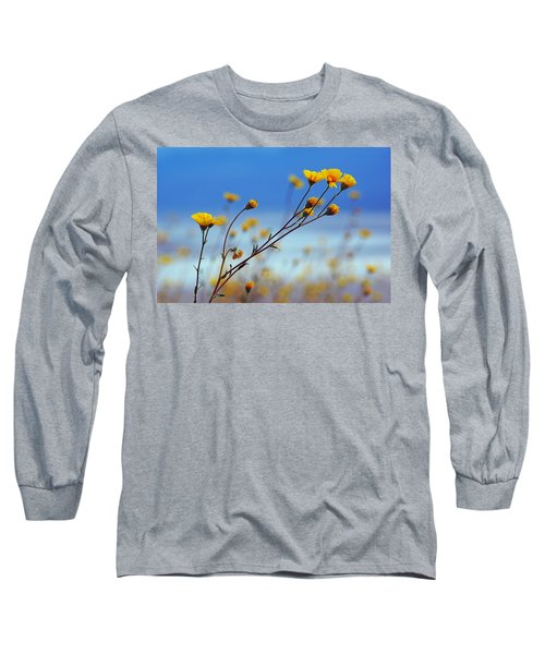 Death Valley Superbloom 502 Long Sleeve T-Shirt by Daniel Woodrum