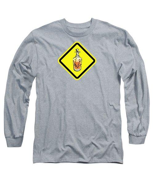 Decanter Hazard Long Sleeve T-Shirt by Stan  Magnan