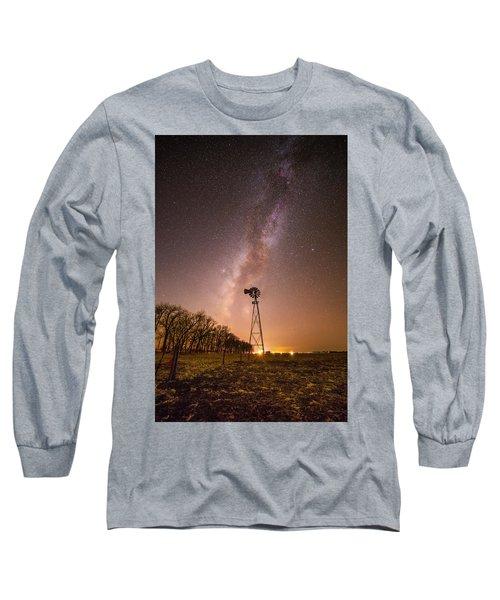 December Night  Long Sleeve T-Shirt