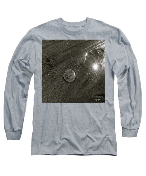 Deceptively Clear Long Sleeve T-Shirt by KD Johnson