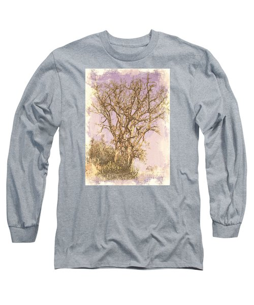 Deciduous Long Sleeve T-Shirt by Manjot Singh Sachdeva