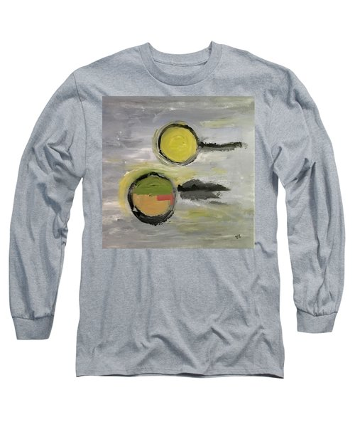 Deconstruction Long Sleeve T-Shirt by Victoria Lakes