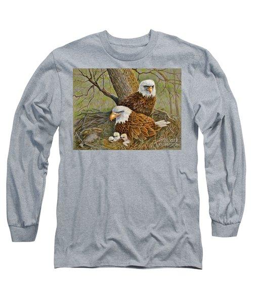 Decorah Eagle Family Long Sleeve T-Shirt