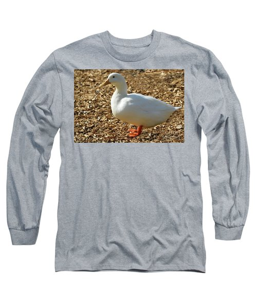 Decorative Duck Series 342717 Long Sleeve T-Shirt