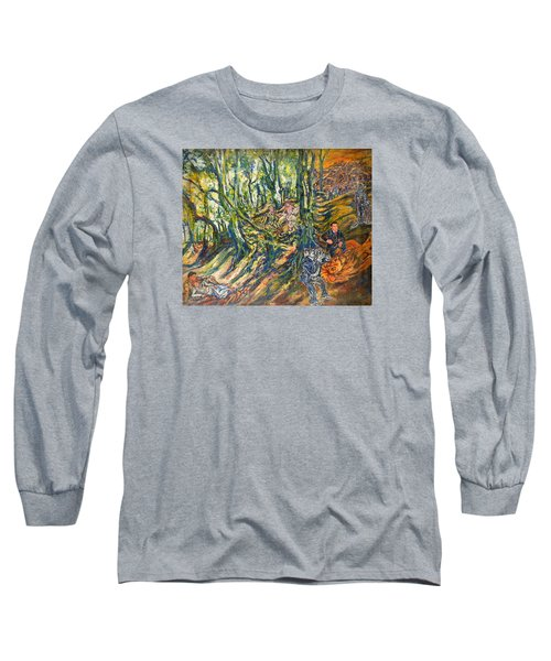 Dedicated To The Memory Of Cecil The Lion Long Sleeve T-Shirt