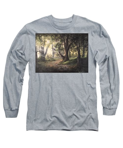 Deep Forest Rays  Long Sleeve T-Shirt