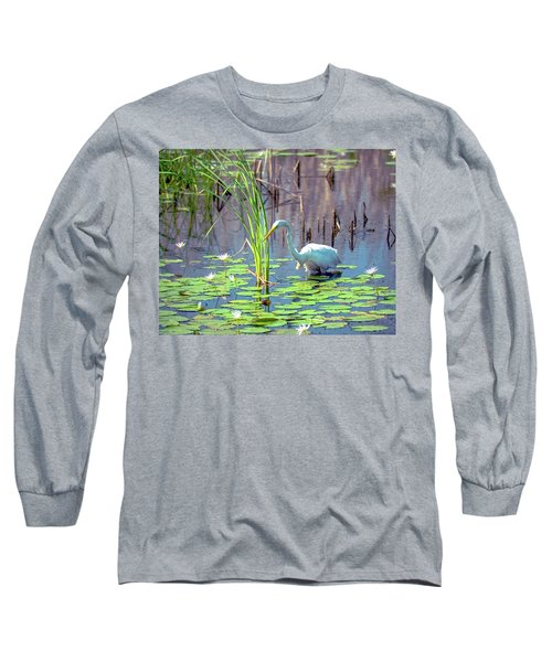 Deep In The Water Long Sleeve T-Shirt
