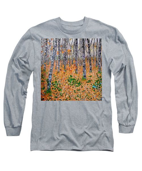 Deep In The Woods- Large Work Long Sleeve T-Shirt