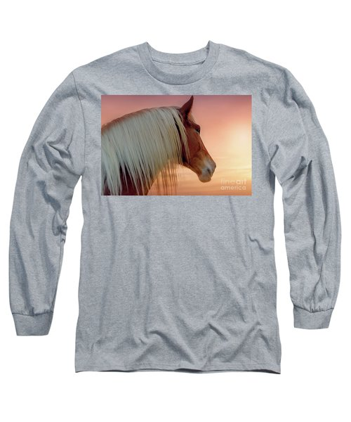 Deep In Thought Long Sleeve T-Shirt by Tamyra Ayles
