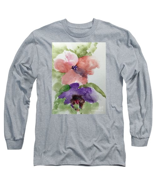 Deep Within Long Sleeve T-Shirt by Trilby Cole