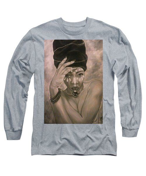 Deeply Rooted Long Sleeve T-Shirt by Jenny Pickens