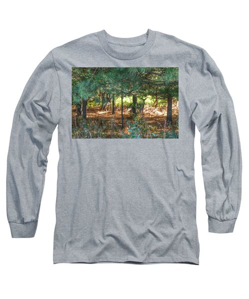 1011 - Deer Of Croswell I Long Sleeve T-Shirt