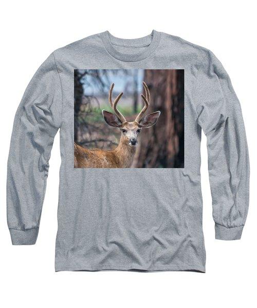 Deer Stare Long Sleeve T-Shirt